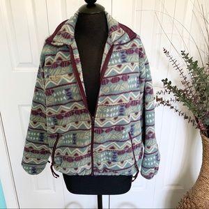 Columbia | Vintage Aztec Full Zip Fleece Sweater